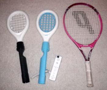wii tennis vs real tennis